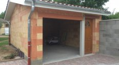 Giraud Maçonnerie - Construction d'un garage à Quincieux