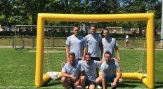 Giarud Maçonnerie - L'équipe au tournoi du FCVB 2019